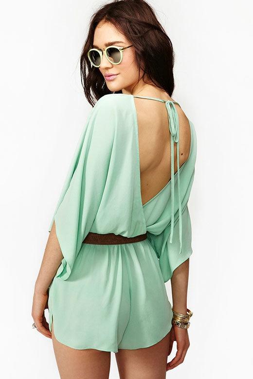 Модные летние женские комбинезоны 2014: шорты и брюки