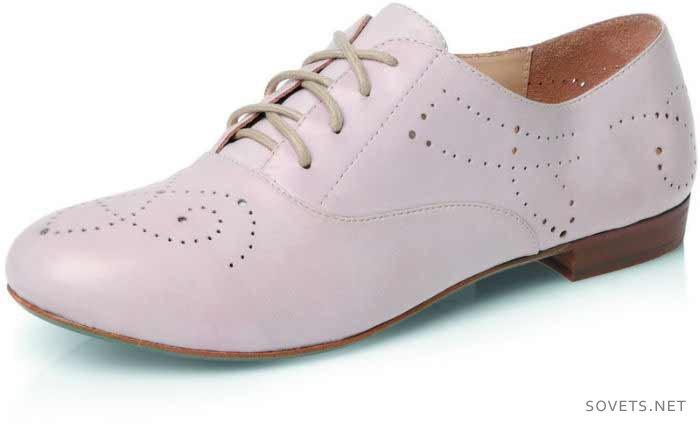 Модные женские ботинки с мужскими элементами