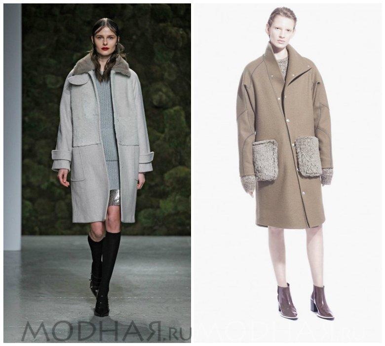 Модные женские пальто 2016 фото