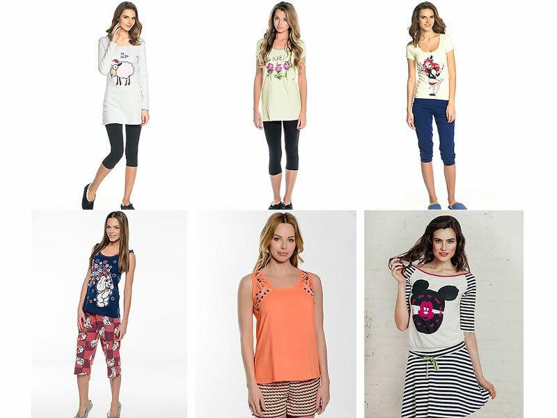 Модные женские пижамы 2015