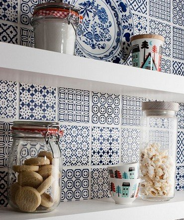 Плитка в стиле пэчворк для кухни и ванной: фото и идеи
