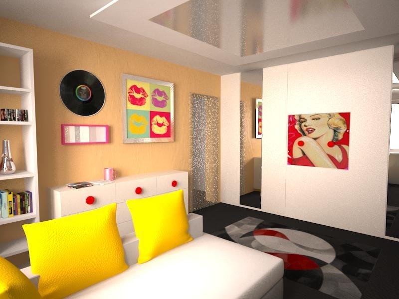 Поп-арт - Декор и дизайн интерьера
