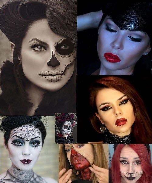 Самый неотразимый и эффектный макияж на Хэллоуин (фото, видео)