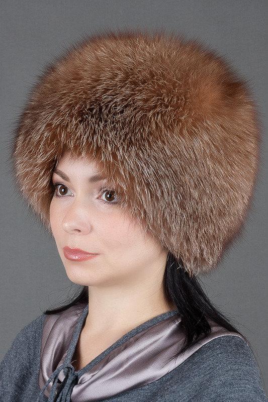 Шапка Колобок Семь Зим, цвет огневка, артикул W15100813036