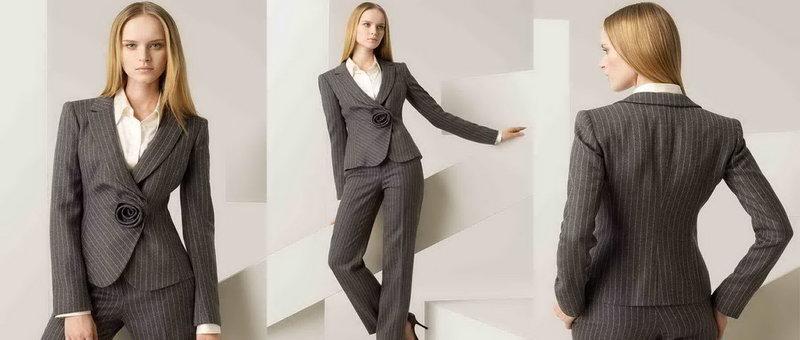 Современный офисный стиль деловой женщины