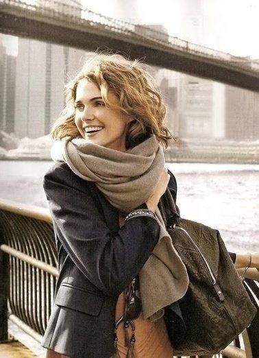 способы завязывания платков и шарфов 14
