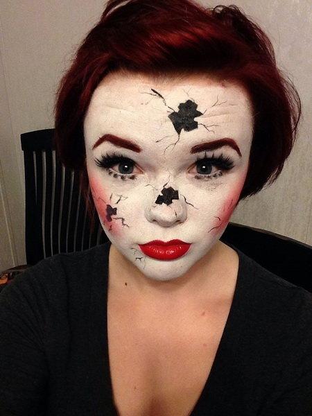 Страшный макияж на Хэллоуин. Фото | Женский блог о красоте и моде