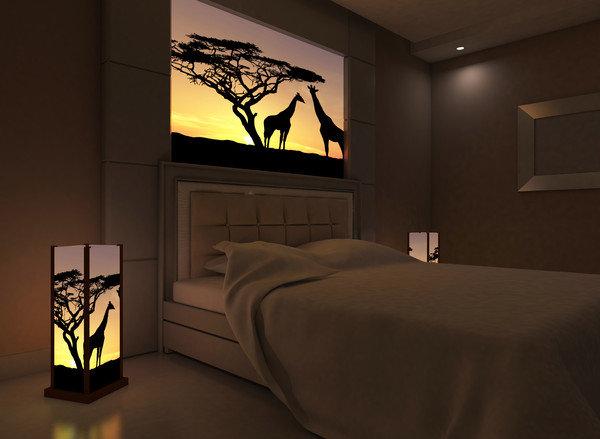 светильники в африканском стиле