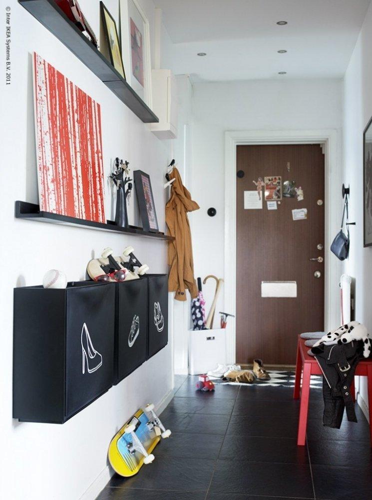 Варианты хранения обуви в доме от ИКЕА - Сундук идей для вашего дома - интерьеры, дома, дизайнерские вещи для дома
