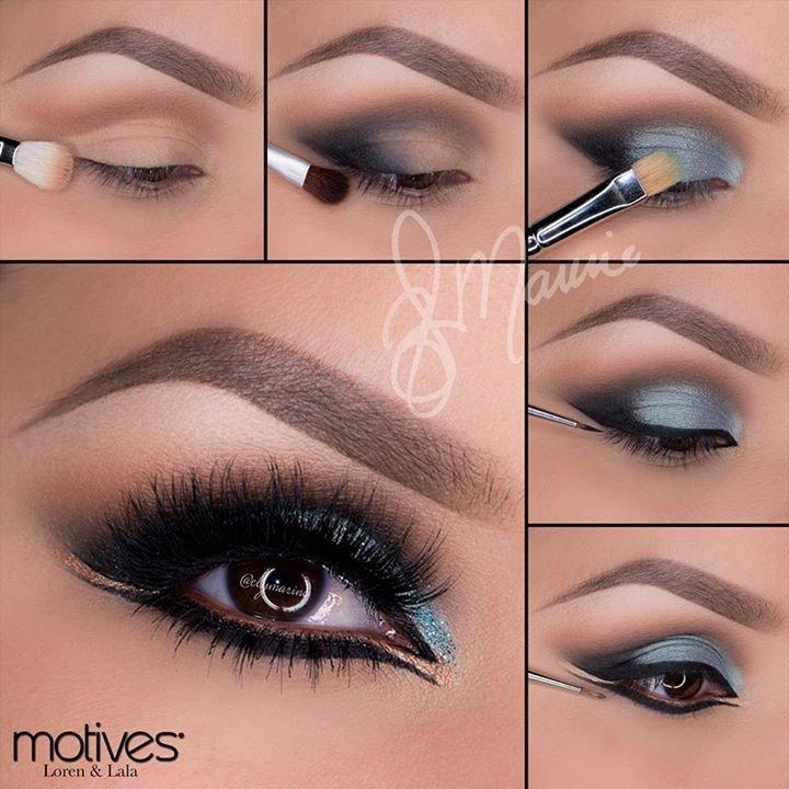 Восточный макияж глаз - как правильно делать? Фото и видео. Женский интернет-журнал Delafe.ru
