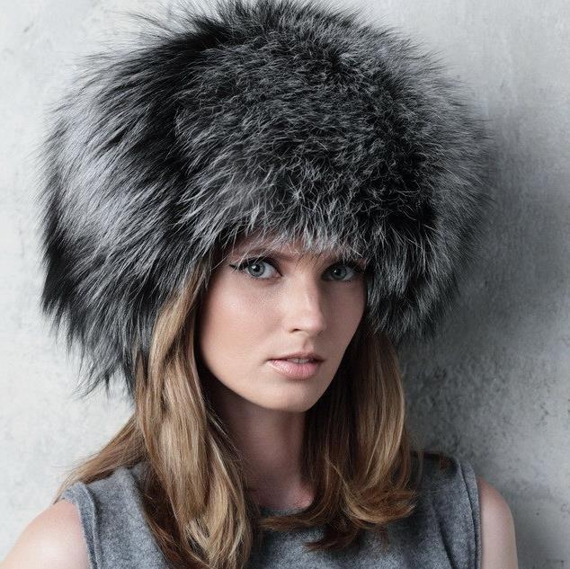 Женские меховые шапки. Более 120 фотографий зимних головных уборов для девушек.   Блог для ЖЕНЩИН