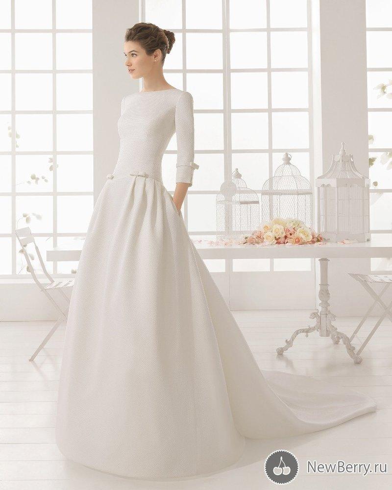 Свадебное платье для зимней свадьбы