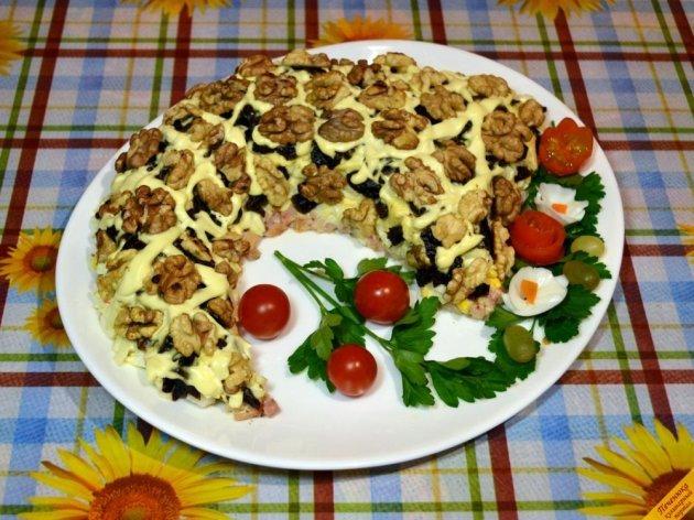 Салат Грибная поляна  пошаговый рецепт с фото на Поварру
