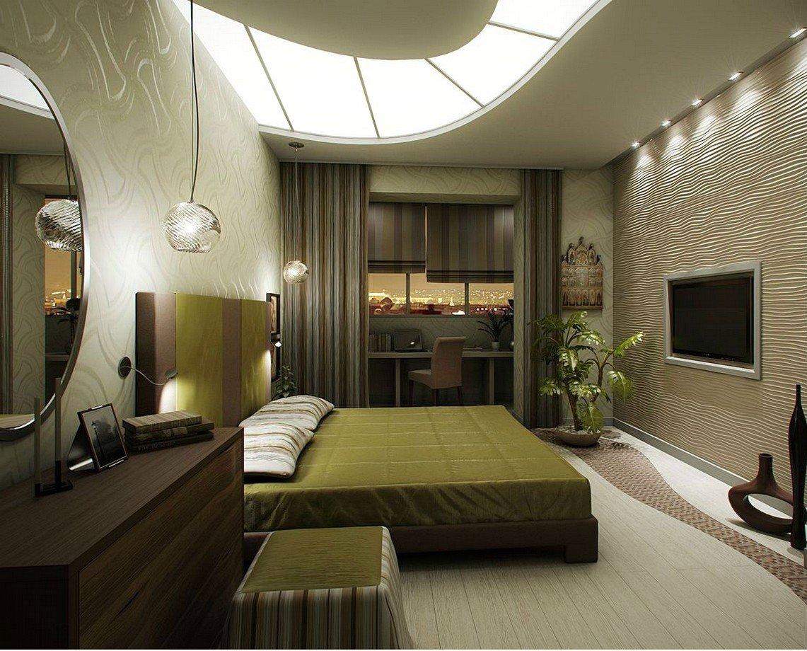 Дизайн спальни с балконом:как организовать пространство диза.