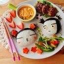 Оригинальное оформление детских порционных блюд