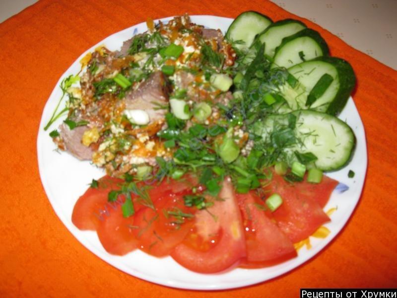 Потрясающий рецепт баранины со сметаной за печенная в духовке