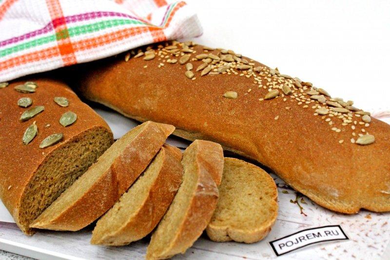 Рецепт: Простой домашний хлеб - все рецепты России 18