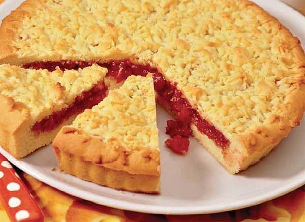 Пирог рецепты с вареньем