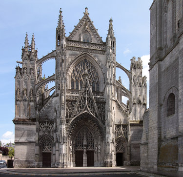 готика во франции архитектура