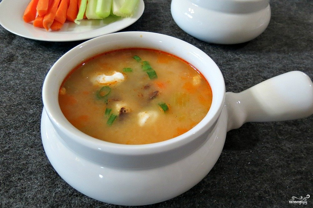 суп с копченой курицей картинки все сорта