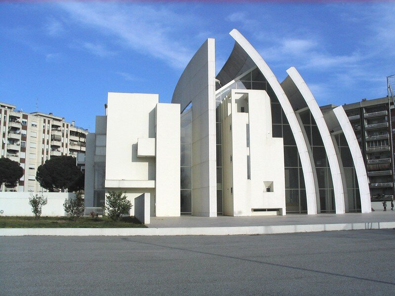 Современная архитектура храмов (21 фото) churches09 Современная архитектура храмов