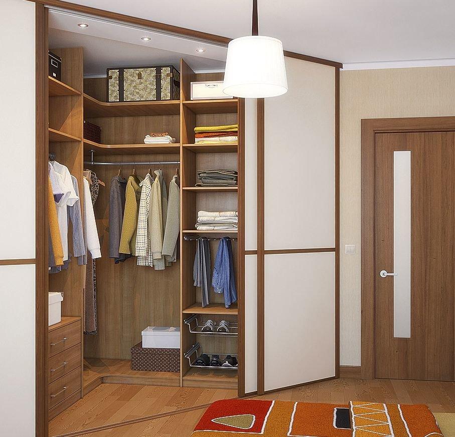 Гардеробные комнаты на заказ по индивидуальным размерам в мо.