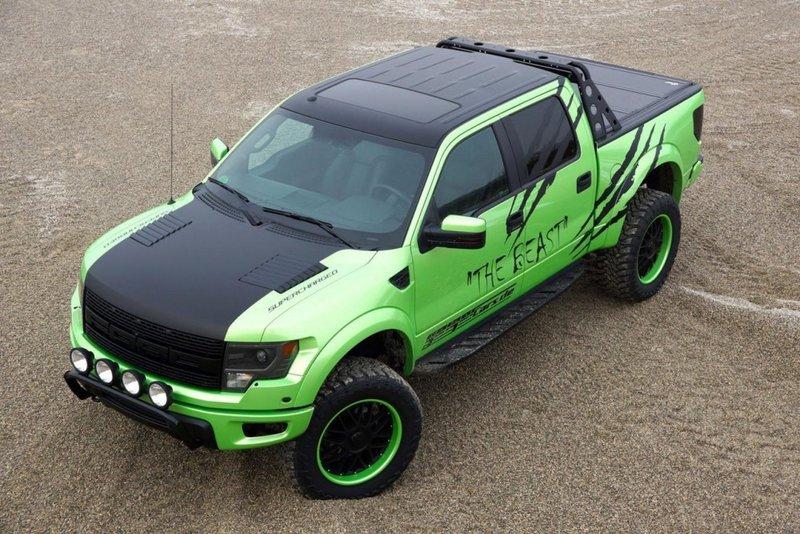 "Geiger Ford F-150 SVT Raptor SuperCrew ""The Beast"""