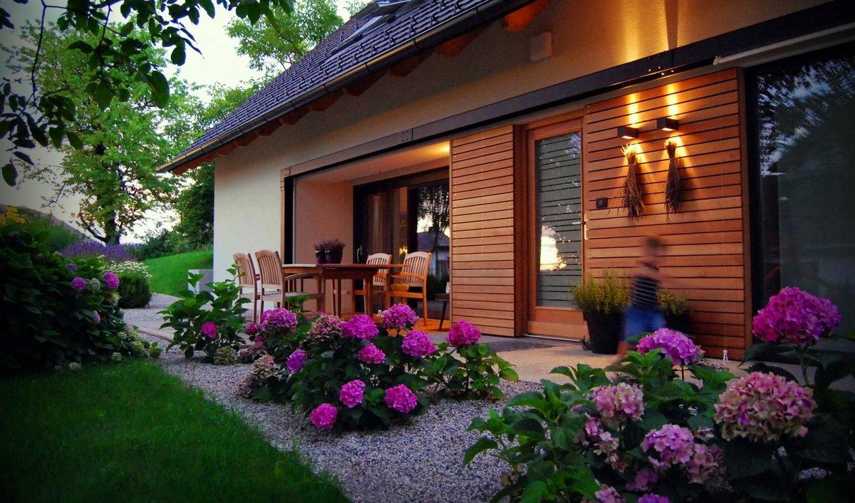 фото дом ландшафтный дизайн