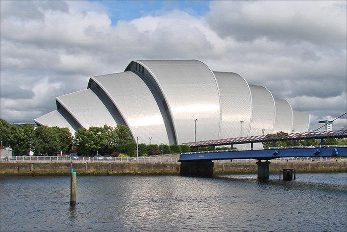Конференц-зал Клайд Аудиториум в Глазго, Шотландия