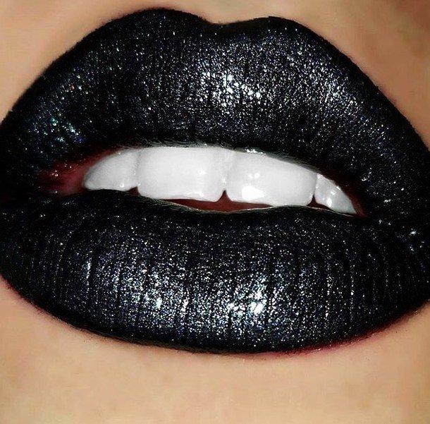 еще губы черные красивые картинки где хранятся