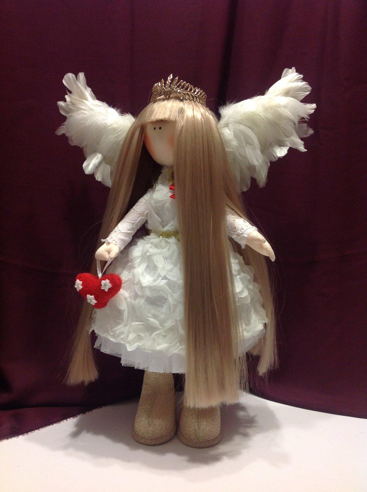 """Текстильна лялька """"Ангел Аврора""""» — картка користувача tihon4eva у ... e92d6be4ef64d"""