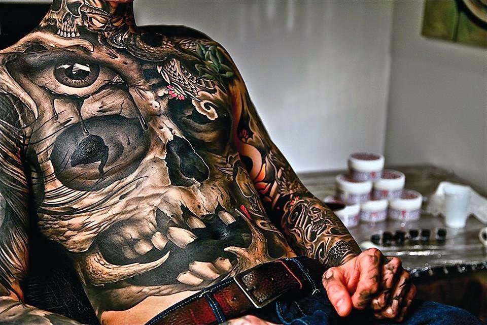 Самые крутые картинки татуировок