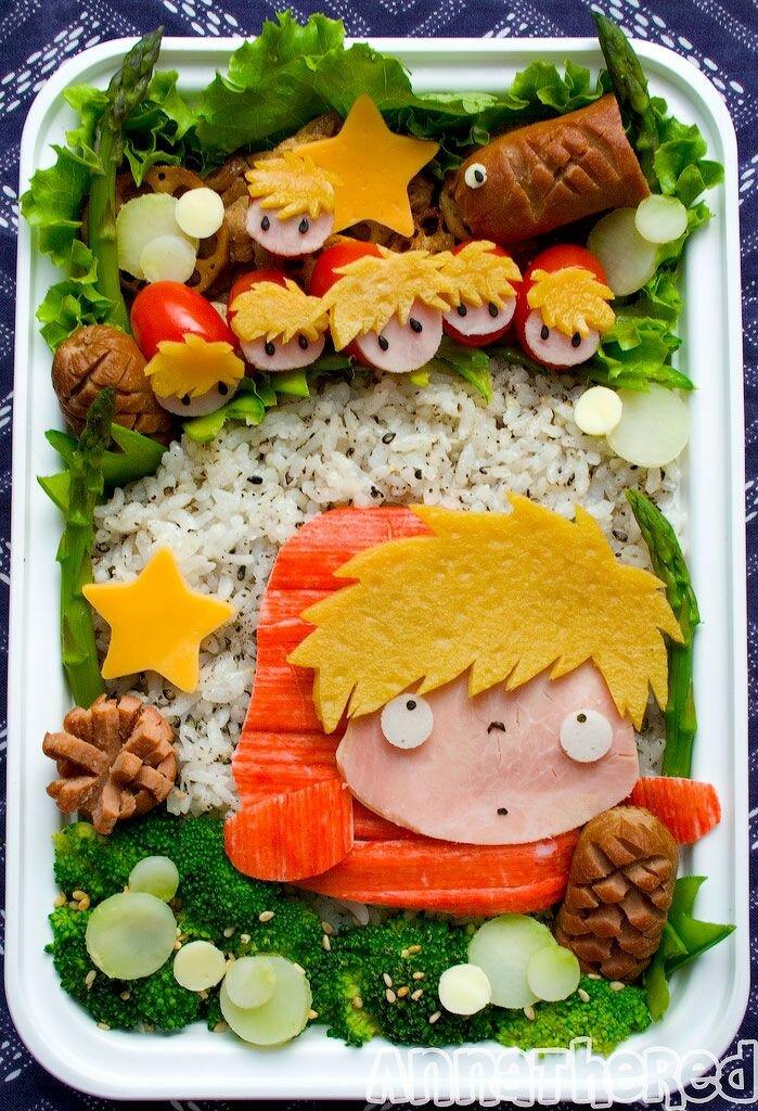 Еда как искусство-шедевры из Японии