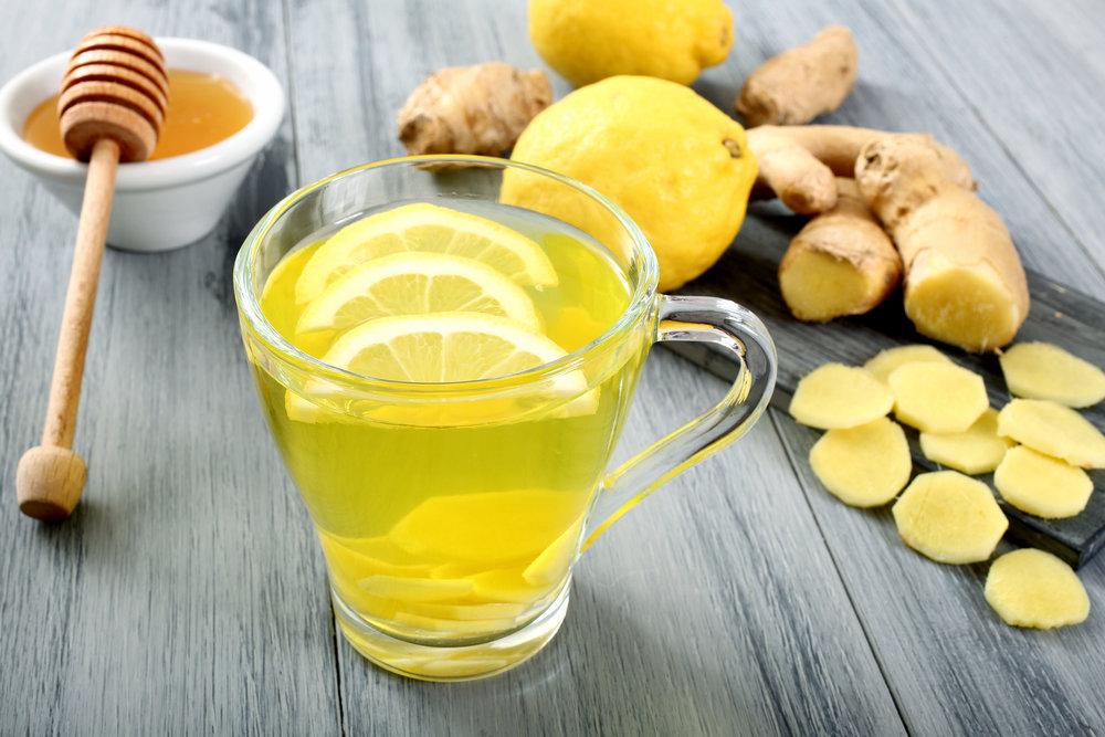 мед имбирь и лимон для похудения