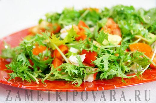 Легкие овощные салаты с фото