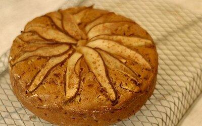 Пирог из груши — простой рецепт