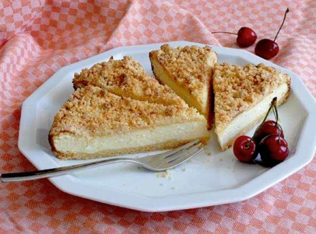 Пирог с творогом и маскарпоне - Портал Домашний