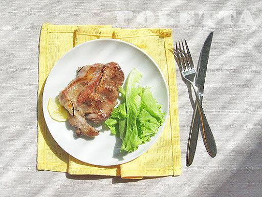 Recipes & Ideas: Стейк из свиной шейки