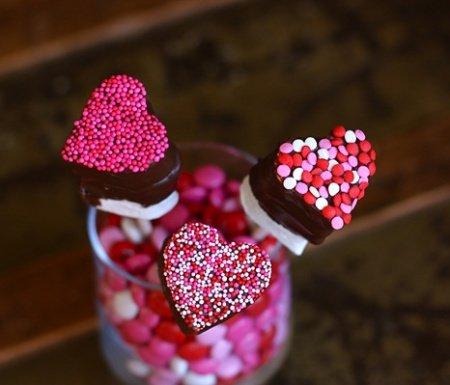 Рецепт вкусного зефира на День Святого Валентина