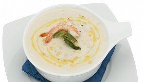 Суп с креветками и сыром - пошаговый рецепт с фото