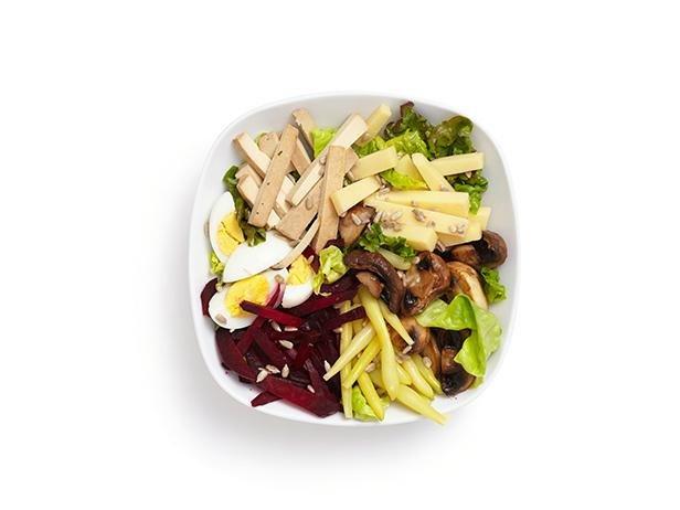 Вегетарианский салат от шефа