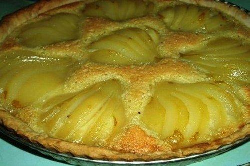Вкусный грушевый пирог с франжипаном