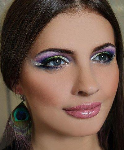 Акварельная техника в макияже: теория и практика - видео урок
