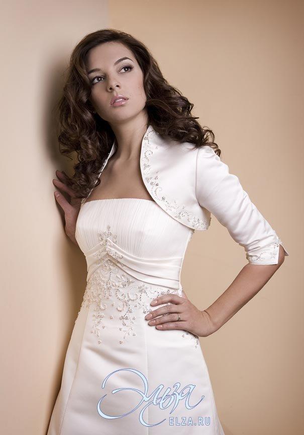 Свадебное платье Патрисия с болеро - фото