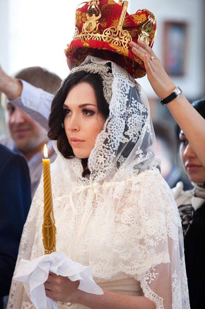 Венчальные платки | Платок в церковь