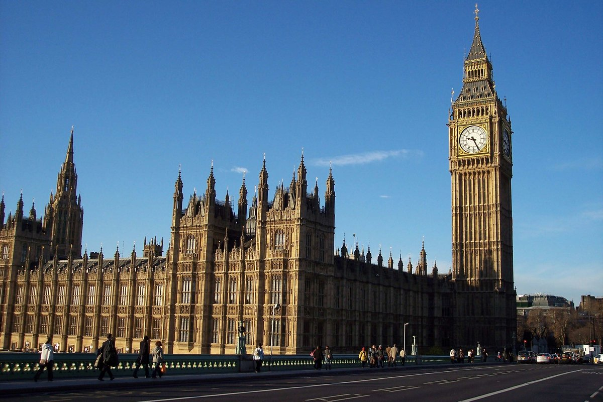 БигБен в Лондоне фото история высота башни где
