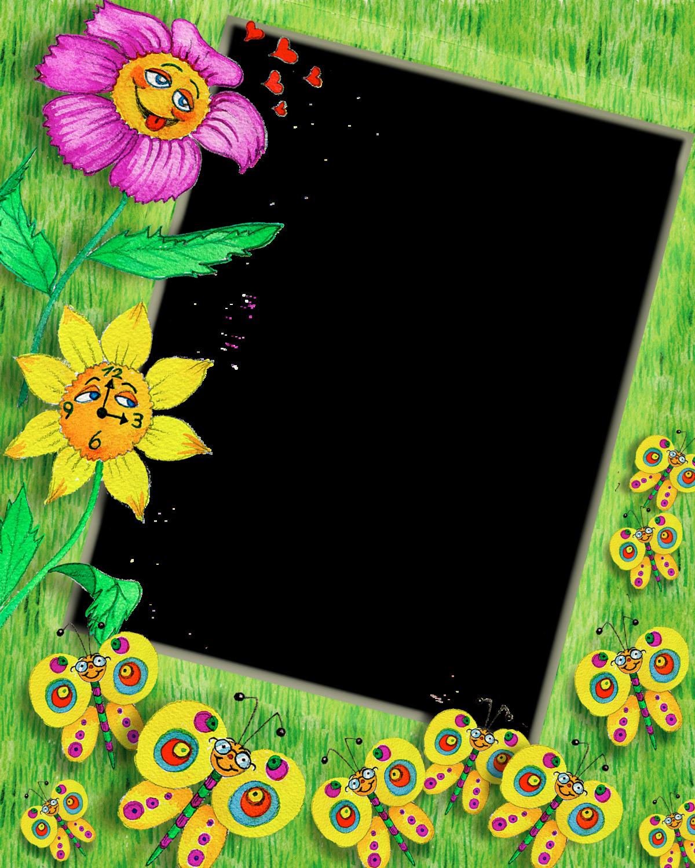 Картинки, рамка для открытки детский сад