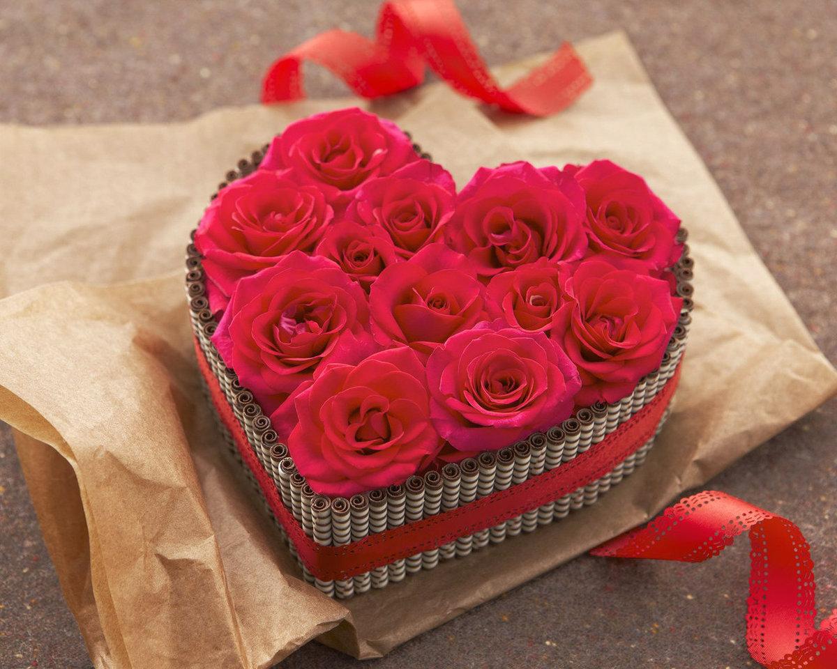 Подарочные картинки для девушки с любовью