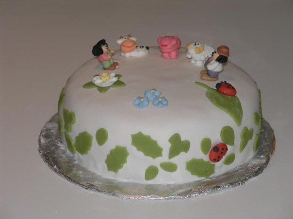 Детский торт с рецептом