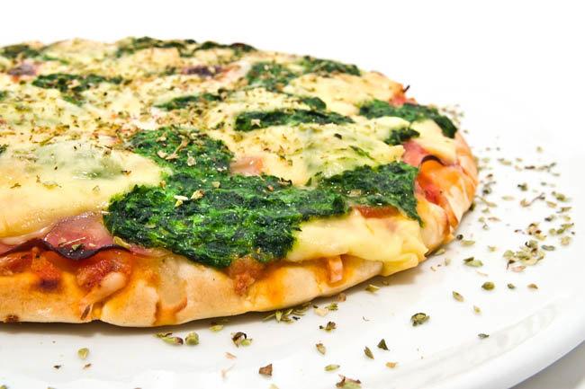 Рецепт острой вегетарианской пиццы